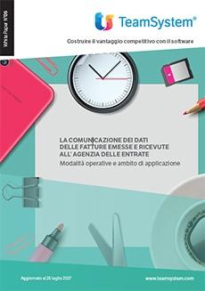Comunicazione Dati Fatture emesse e ricevute 2017